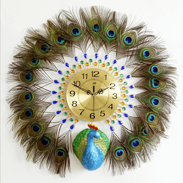 đồng hồ lông công thật
