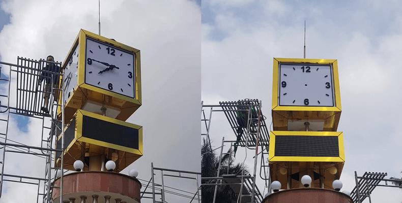 tháp đồng hồ công cộng tại pleiku